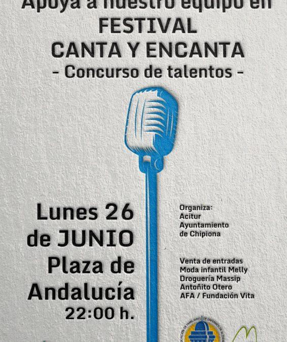 ¡Apoya hoy al equipo Alzheimer en el festival de talentos Canta y Encanta!